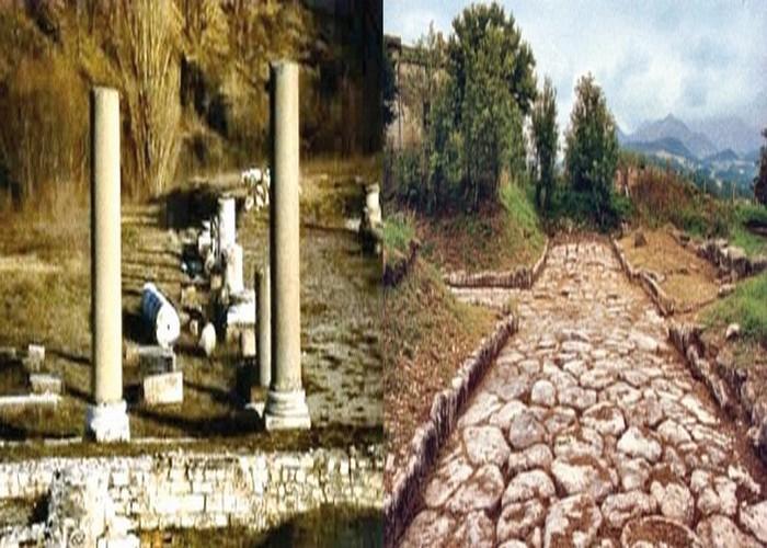 Il parco archeologico di Sentinum